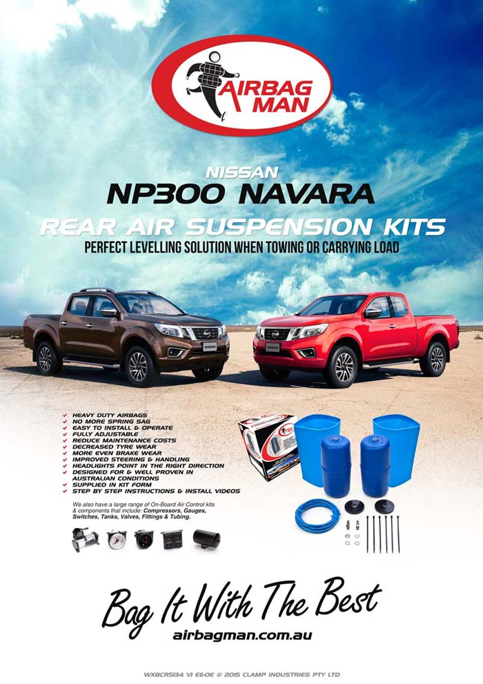 Nissan Navara NP300AirbagManAirSuspensionCoilHelper